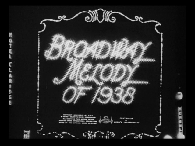 Broadway Melody of 1938 (1937) title sequence