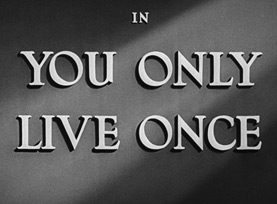 You Only Live Once (1937) Blu-ray movie title