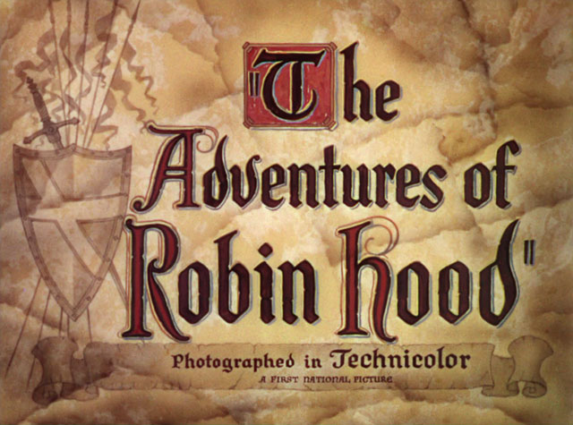 The Adventures of Robin Hood (1938) movie title