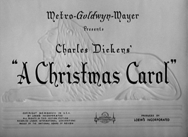 A Christmas Carol (1938) | the Movie title stills collection: Updates