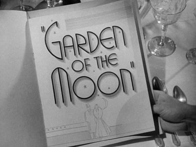 Awesome Garden Of The Moon (1938) Title Sequence
