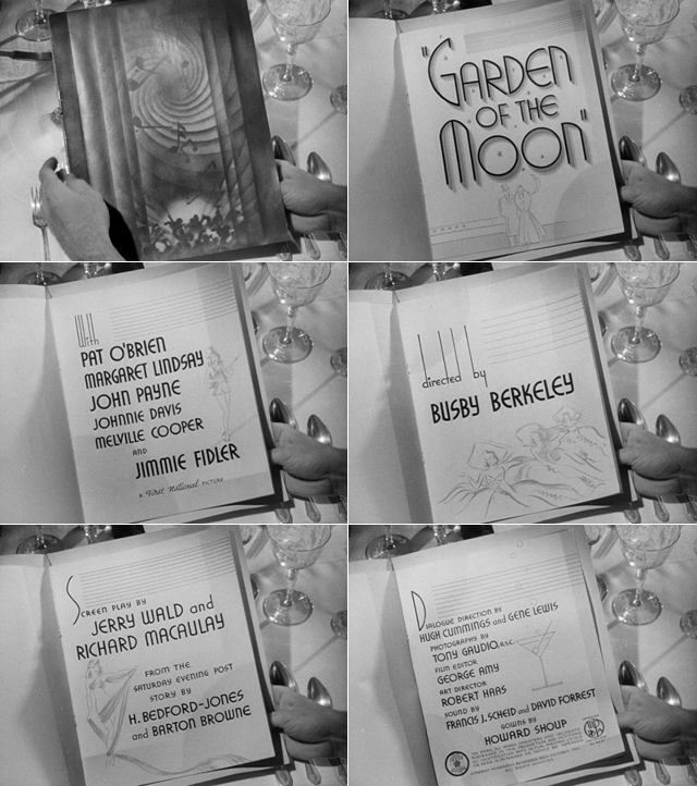 ... Garden Of The Moon (1938) Title Sequence