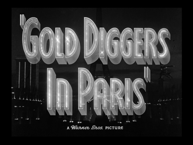 Gold Diggers in Paris 1938 movie title