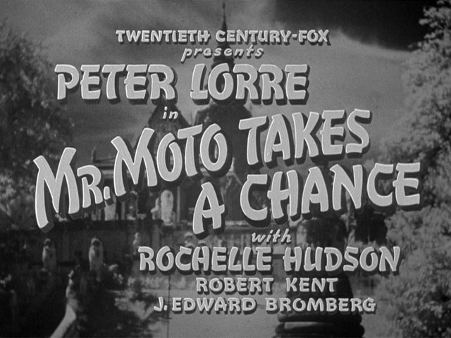 Mr. Moto Takes a Chance 1938 movie title