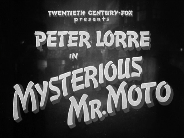 Mysterious Mr. Moto 1938 movie title