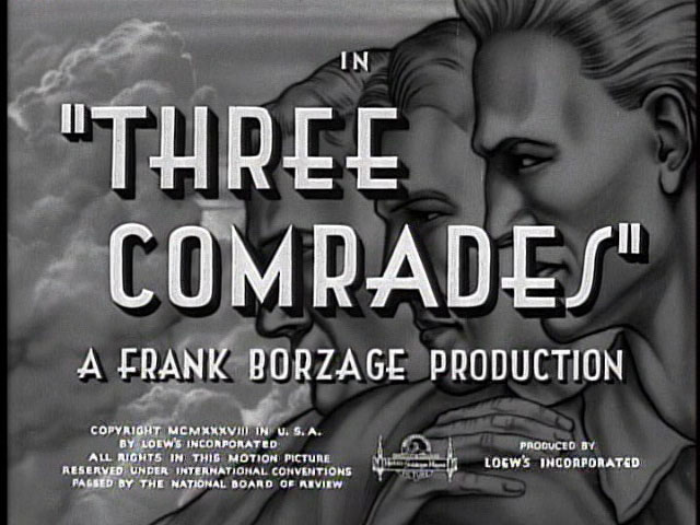 Three comrades 1938 movie title