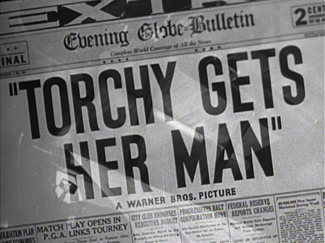 Torchy Gets Her Man 1938 movie title