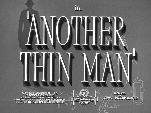 Another Thin Man 1939 movie title