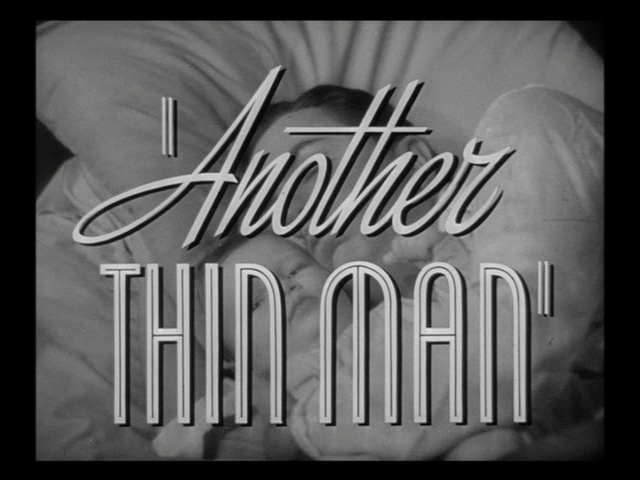Another Thin Man movie trailer title