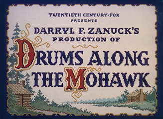 Drums Along the Mohawk (1939) John Ford - blu-ray movie title