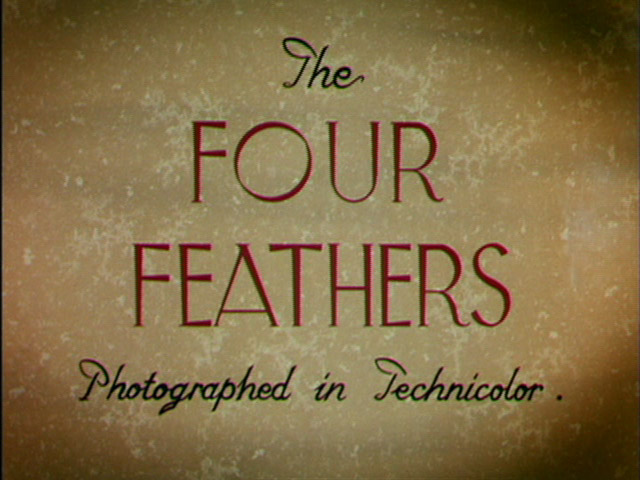 The four feathers 1939 movie title