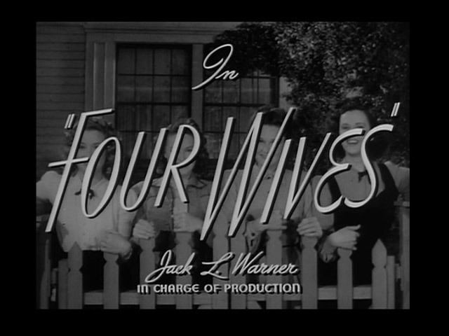 Four Wives 1939 movie title
