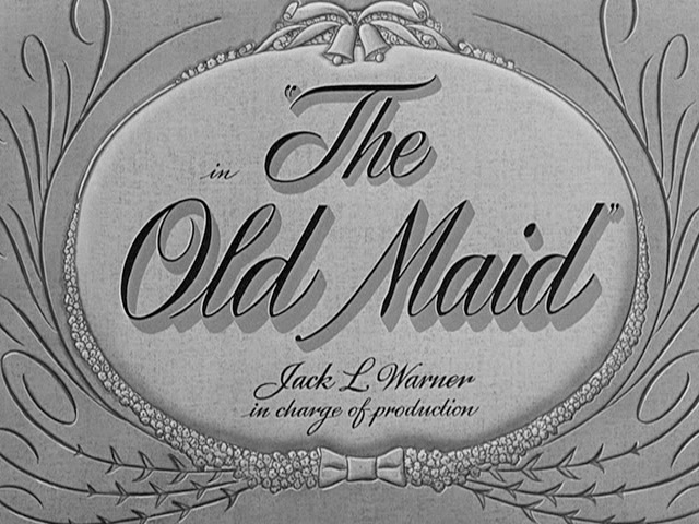 The old maid 1939 movie title