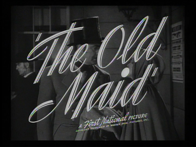 The old maid trailer title