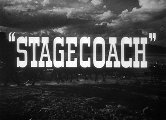 Stagecoach (1939) John Ford - blu-ray movie title