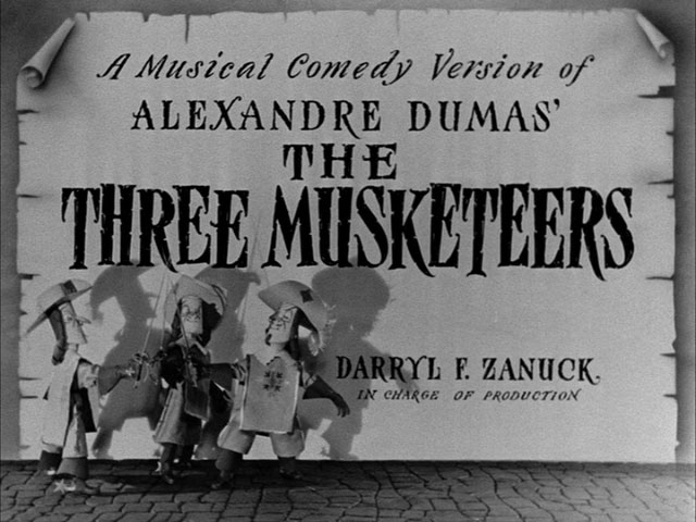 The Three Musketeers 1939 movie title