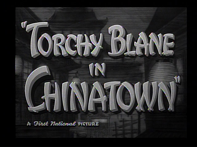 Torchy Blane in Chinatown 1939 movie title