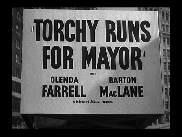 Torchy Runs for Mayor 1939 movie title