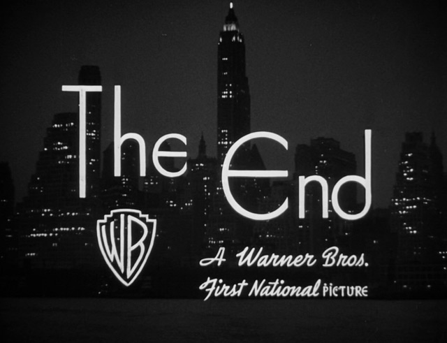 City for conquest (1940) The End