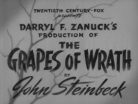 The Grapes of Wrath (1940) Henry Fonda - blu-ray movie title