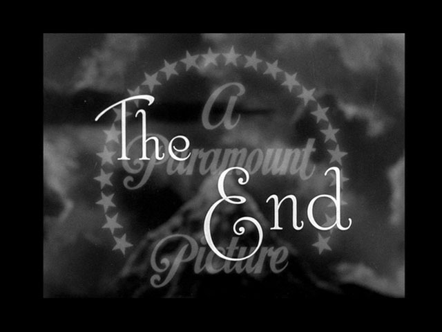 The great McGinty movie end title