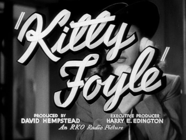 Kitty Foyle movie trailer title