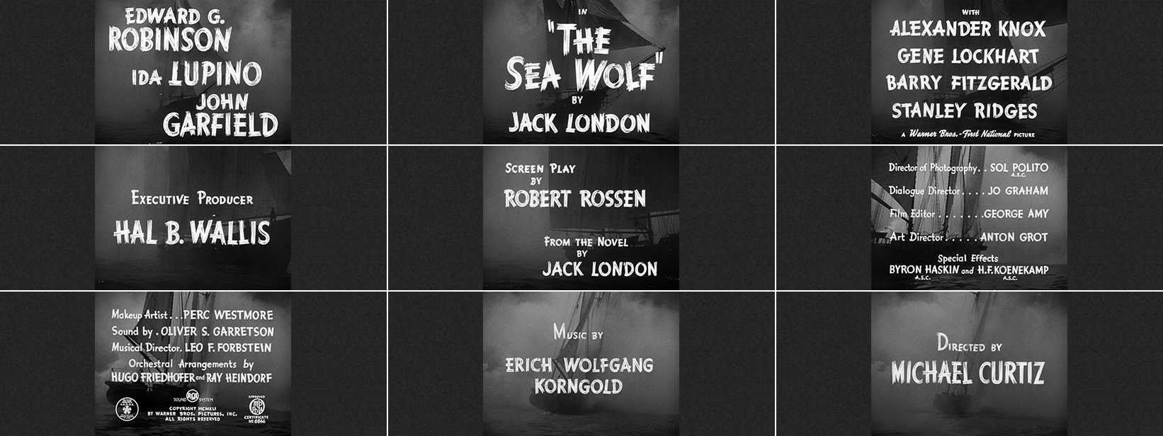 The Sea Wolf (1941) movie title