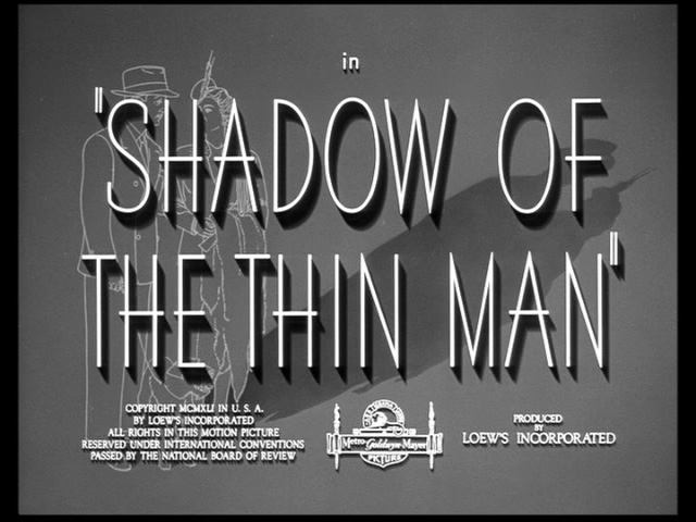 Shadow of the Thin Man movie title