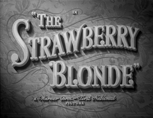 The Strawberry Blonde (1941) movie title