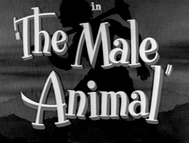 The Male Animal (1942) movie title