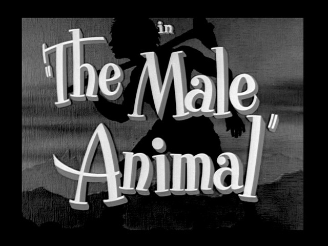 The Male Animal 1942 movie title