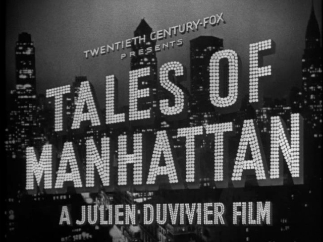 Tales of Manhattan 1942 movie title