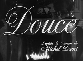 Douce (1943) Claude Autant-Lara - blu-ray movie title