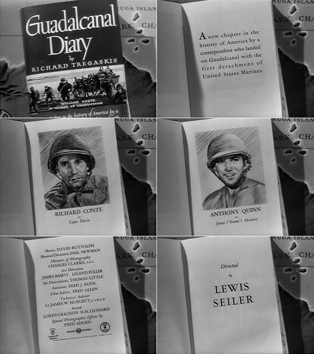 Guadalcanal Diary (1943) title sequence