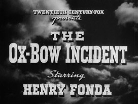 The Ox-Bow Incident (1943) Henry Fonda - blu-ray movie title
