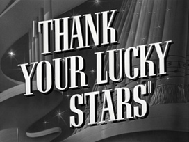 Thank Your Lucky Stars (1943) John Garfield - blu-ray movie title