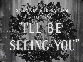 I'll Be Seeing You (1944) Ginger Rogers