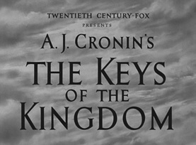 The Keys of the Kingdom (1944) Gregory Peck - Blu-ray movie title