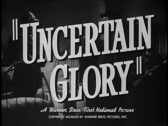 Uncertain Glory trailer title