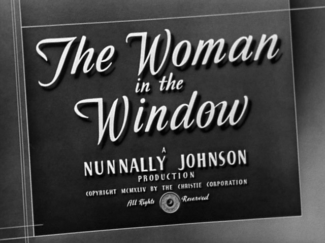 The woman in the window 1944 movie title