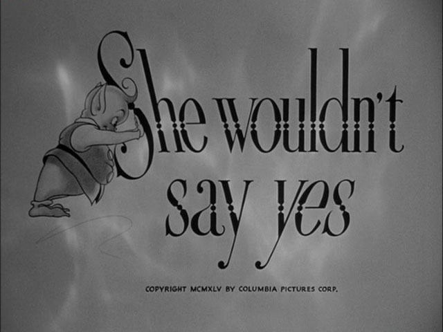 She wouldn't say yes movie title