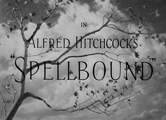 Spellbound (1945) Gregory Peck - Blu-ray movie title