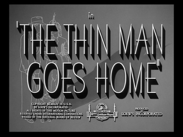 The Thin Man Goes Home movie title