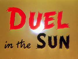 Duel in the Sun (1946) Gregory Peck - Blu-ray movie title