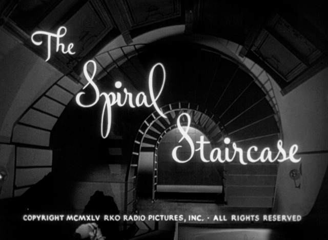 The Spiral Staircase (1946) blu-ray movie title