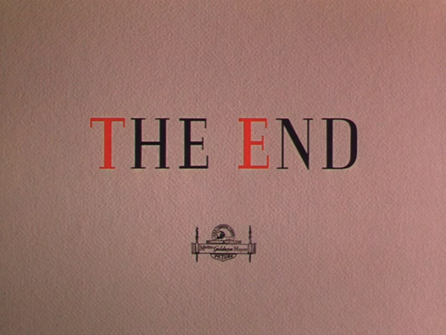 The yearling movie end title screen shot