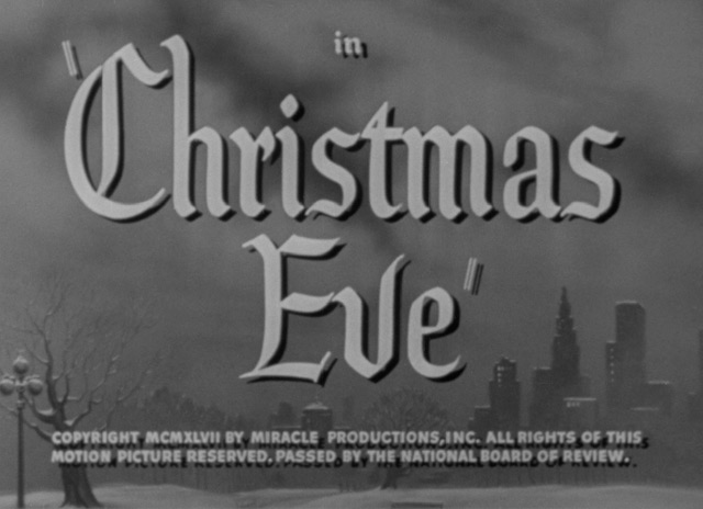 Christmas Eve (1947)   the Movie title stills collection: Updates