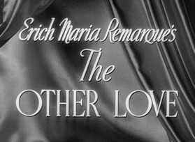 The Other Love (1947) Barbara Stanwyck - Blu-ray movie title