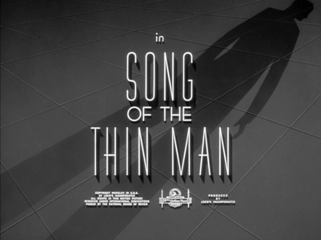 Song of the Thin Man movie title