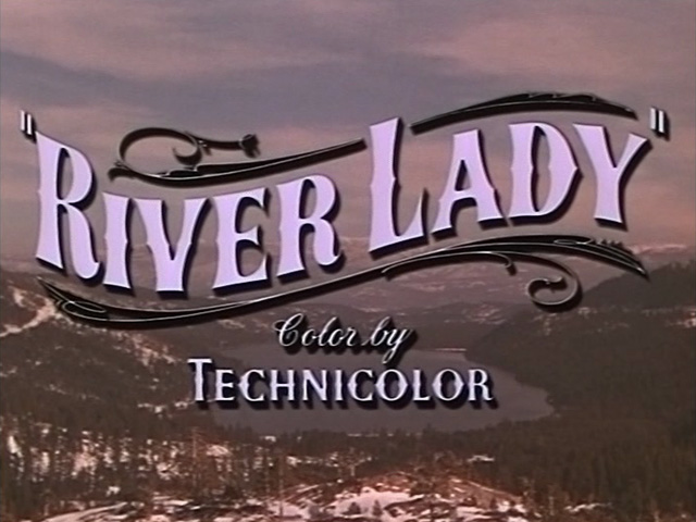 River Lady (1948) movie title